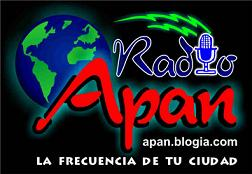 """RADIO APAN """"La Frecuencia de tu ciudad"""" una emisora de APAN.BLOGIA.COM"""