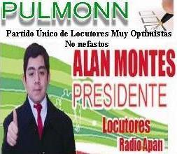 ALAN MONTES NUEVO PRESIDENTE DE LOCUTORES, GANADOR DE ELECCIONES RADIO APAN 2010