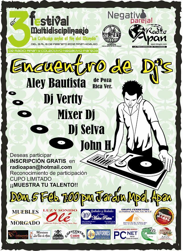 ENCUENTRO DE DJ'S