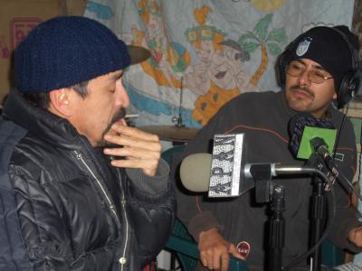 PRIMER ENTREVISTA EN RADIO APAN