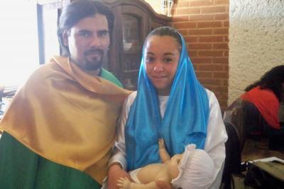 MARÍA Y JOSÉ EN LA PASTORELA DE RADIO APAN