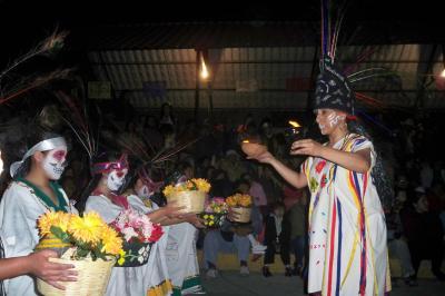 PRIMER FESTIVAL DE DÍA DE MUERTOS 2010