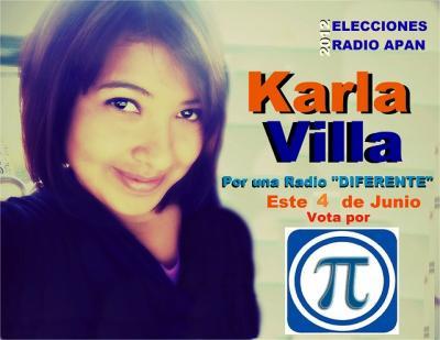 KARLA VILLA EN CAMPAÑA